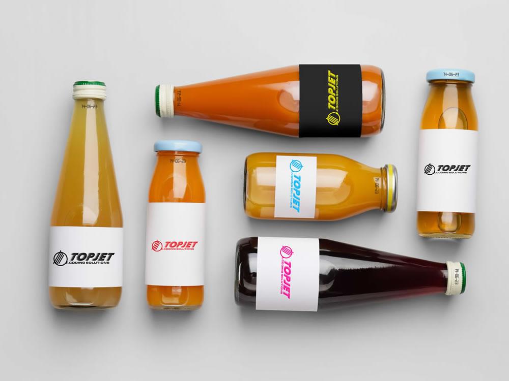 Topjet Beverage etichettatura marcatura